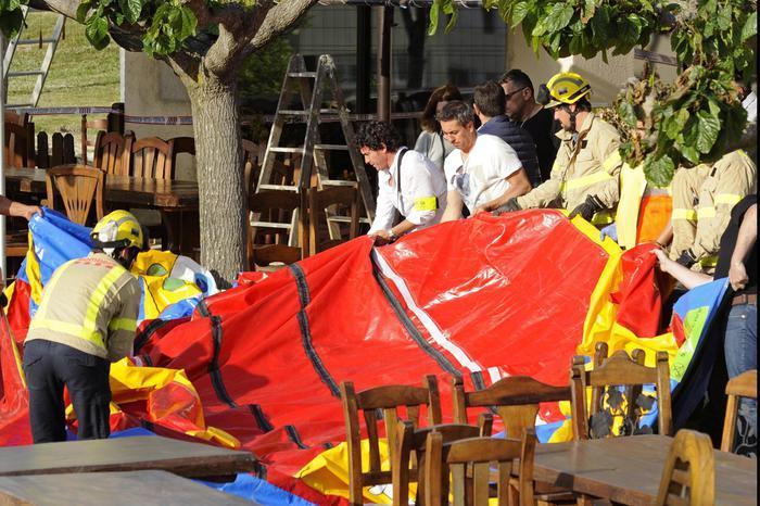 Spagna choc, esplode castello gonfiabile: morta una bimba di 6 anni