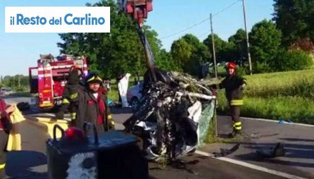 Tre morti in incidente questo pomeriggio a Ganzanigo di Medicina