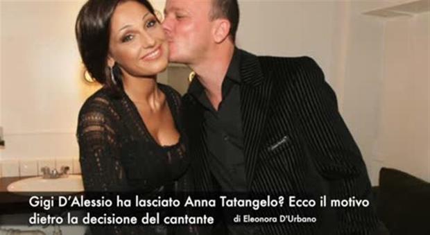 Gigi D'Alessio ha lasciato Anna Tatangelo: ecco perché
