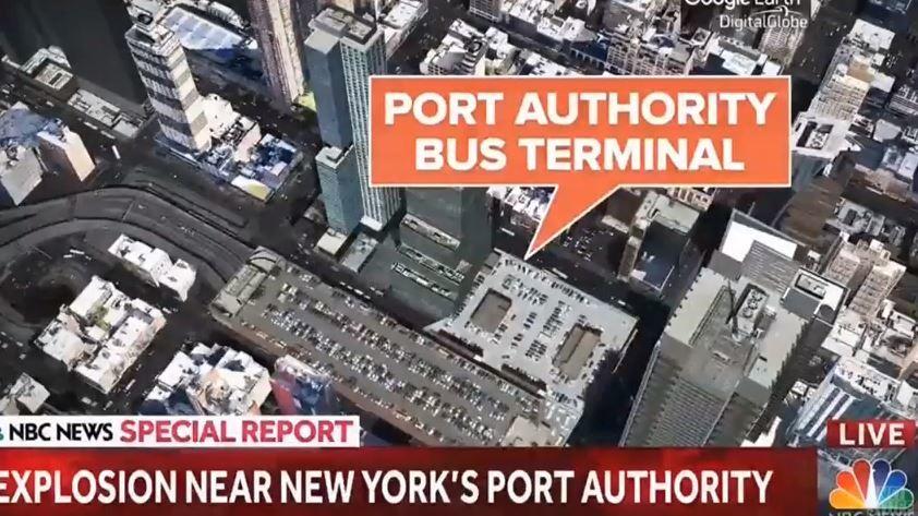 Esplosione a stazione bus, 4 feriti. Fermato un uomo