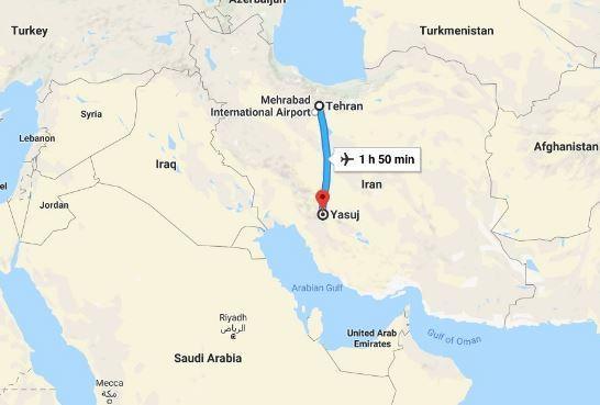 Precipita un aereo in Iran