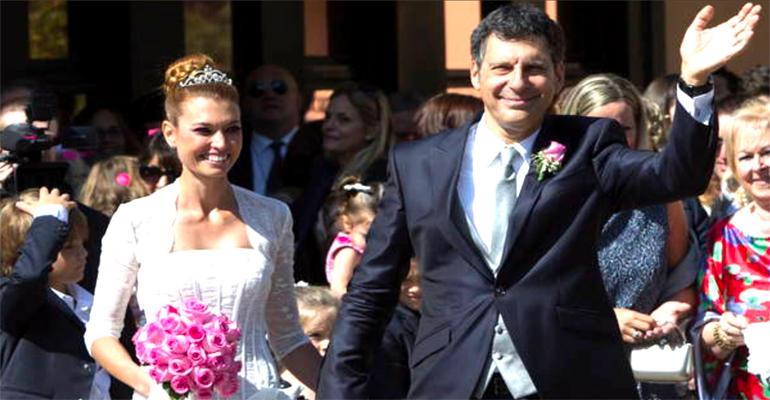 Carlotta Mantovan provata e dimagrita ad un mese dalla morte di Frizzi