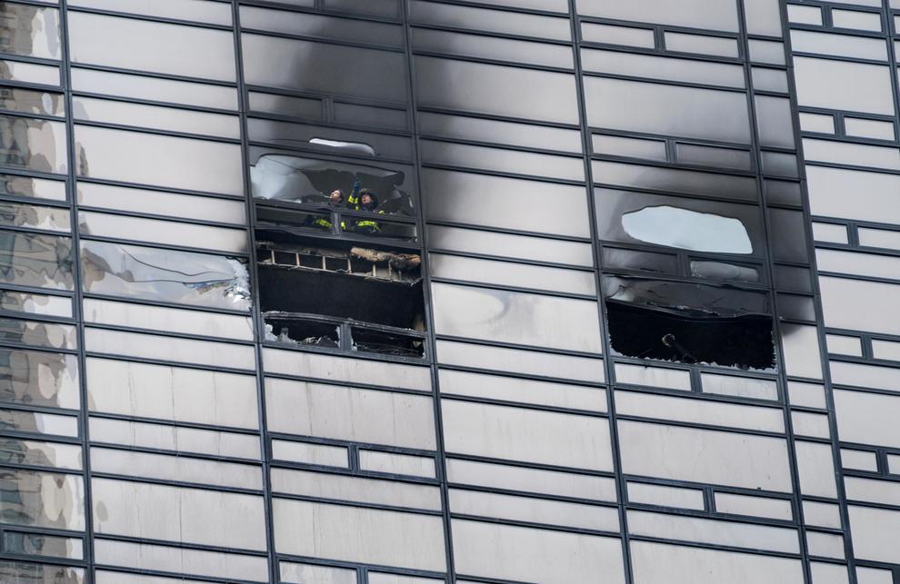 Incendio alla Trump Tower: un morto e cinque feriti