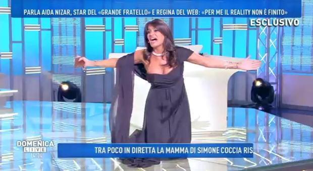 GF, Aida Nizar contro Favoloso
