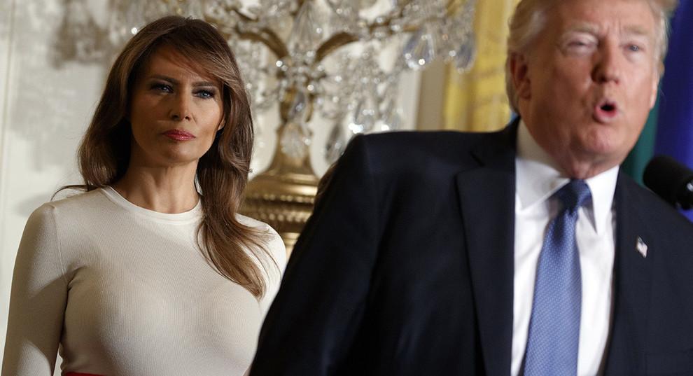 Melania Trump torna in pubblico, tre settimane dopo l'intervento ai reni