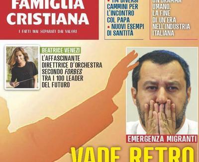 Famiglia Cristiana attacca Salvini: