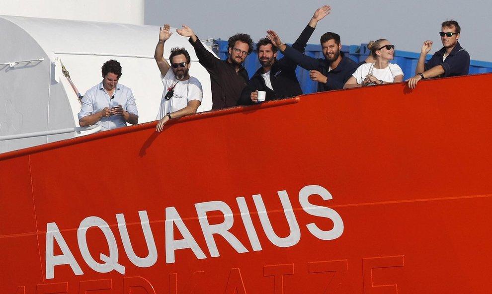 Nessuno Stato europeo vuole i 141 migranti soccorsi dalla Aquarius