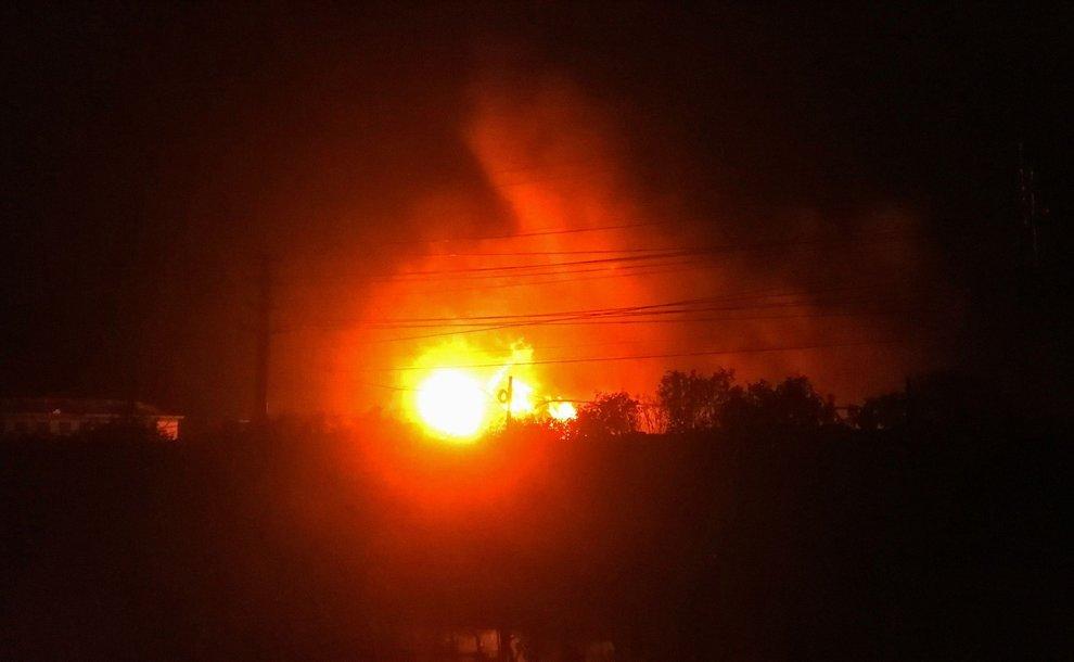 Esplosione chimica in Cina, morti e feriti