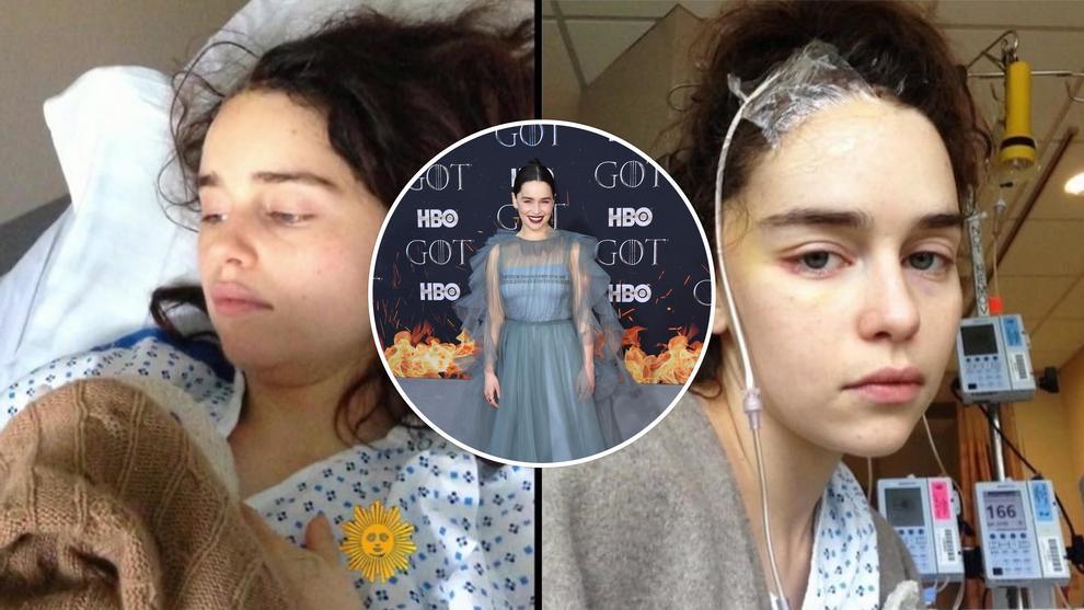 Emilia Clarke condivide le foto del suo ricovero in ospedale