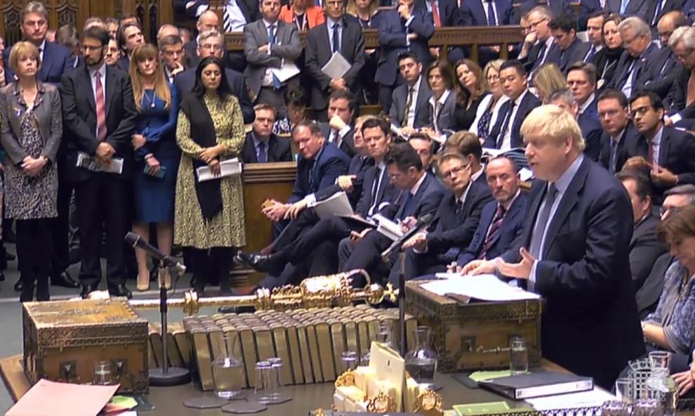 Trappola brexit per johnson ancora un rinvio il premier for Oggi parlamento diretta